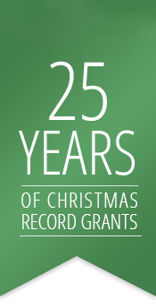 25 Years of Christmas Record Grants